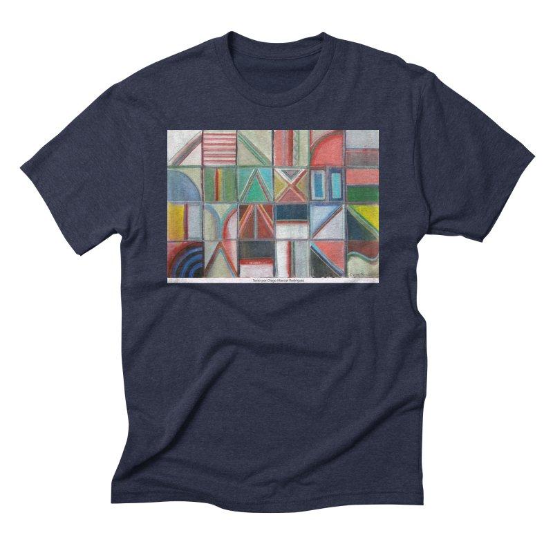 Texto Men's Triblend T-Shirt by diegomanuel's Artist Shop