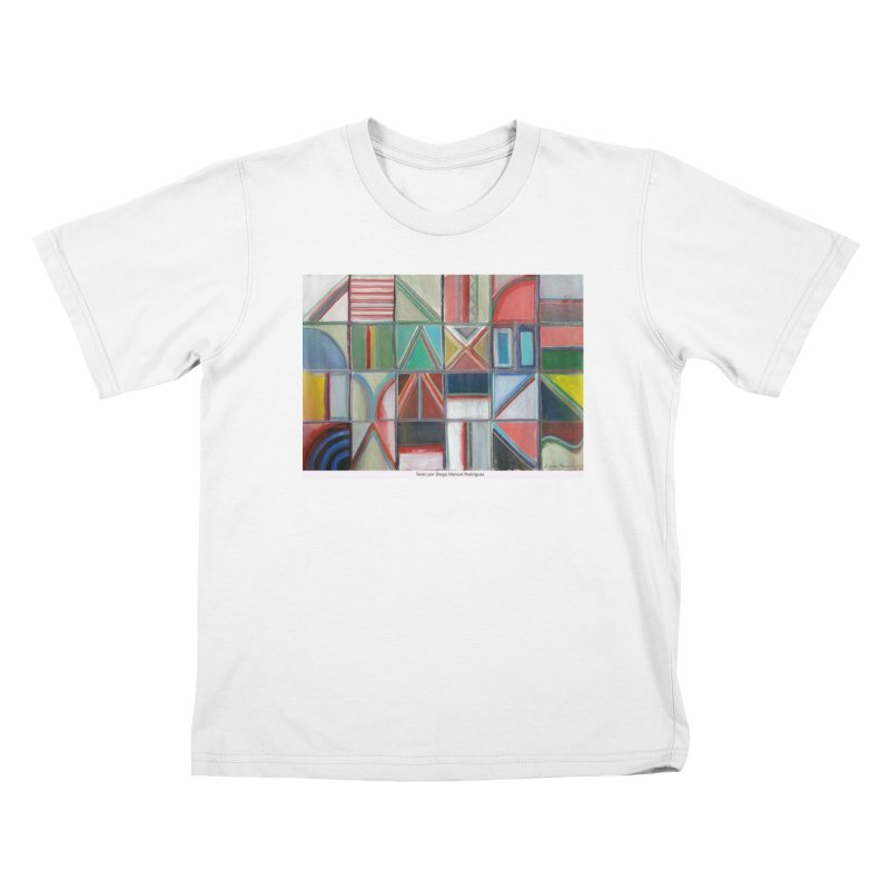 Texto Kids T-Shirt by diegomanuel's Artist Shop