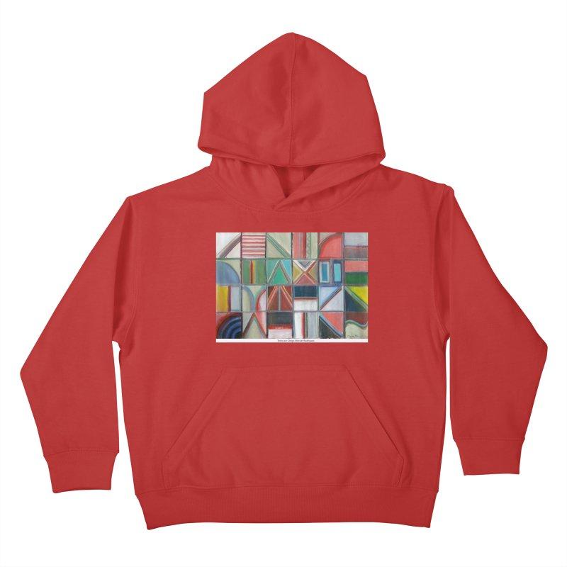 Texto Kids Pullover Hoody by diegomanuel's Artist Shop