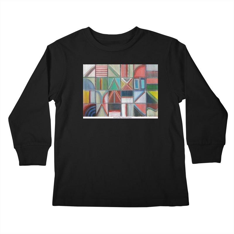 Texto Kids Longsleeve T-Shirt by diegomanuel's Artist Shop