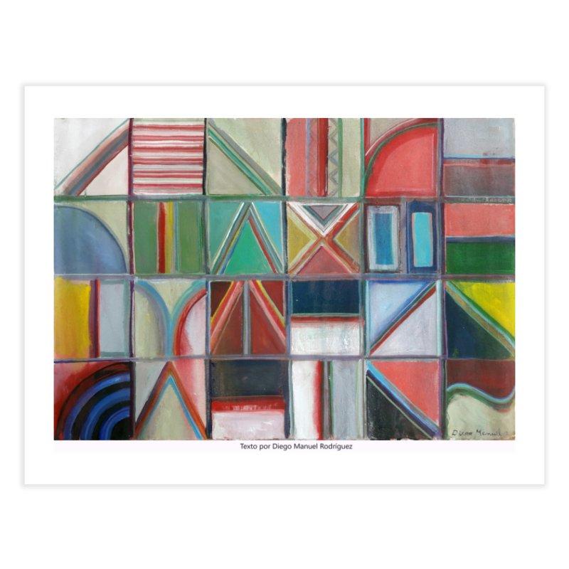 Texto Home Fine Art Print by diegomanuel's Artist Shop