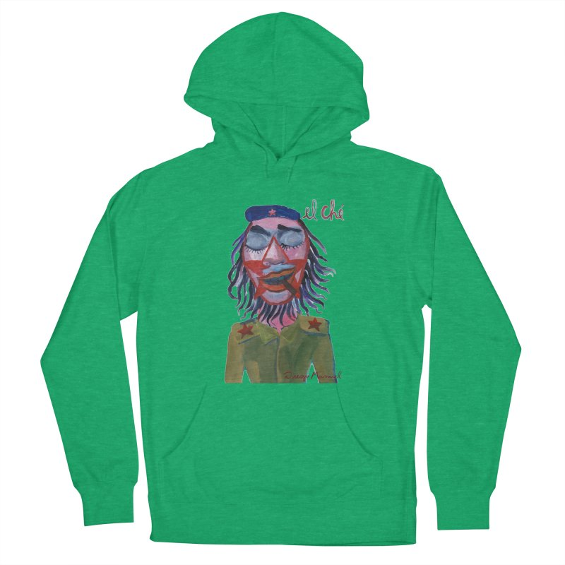 Che Guevara 3 Men's French Terry Pullover Hoody by diegomanuel's Artist Shop