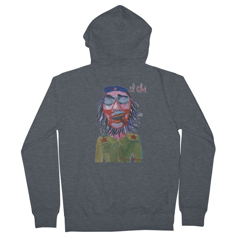 Che Guevara 3 Women's French Terry Zip-Up Hoody by diegomanuel's Artist Shop