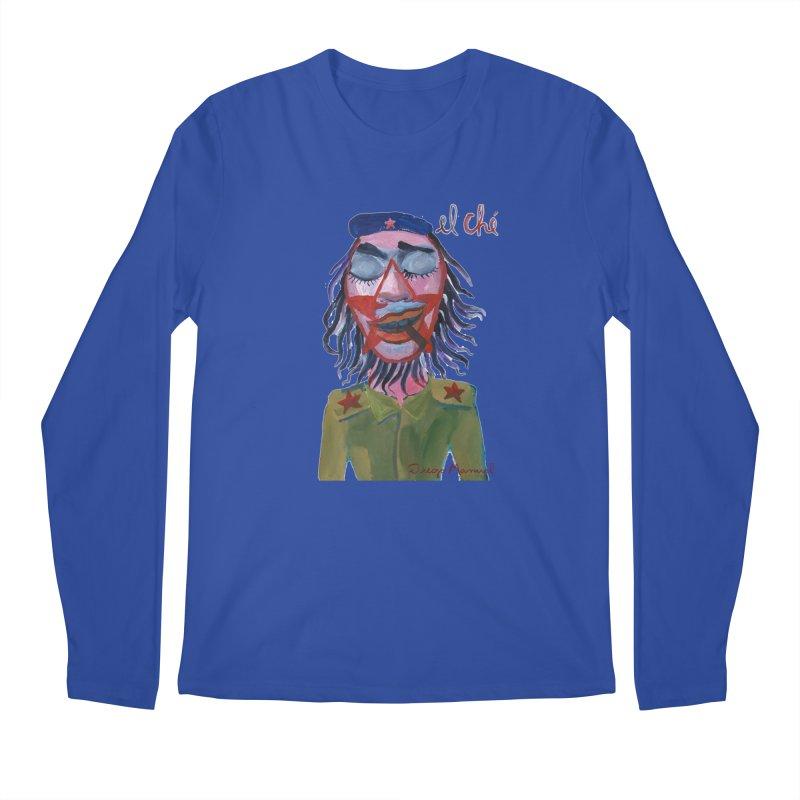 Che Guevara 3 Men's Regular Longsleeve T-Shirt by diegomanuel's Artist Shop