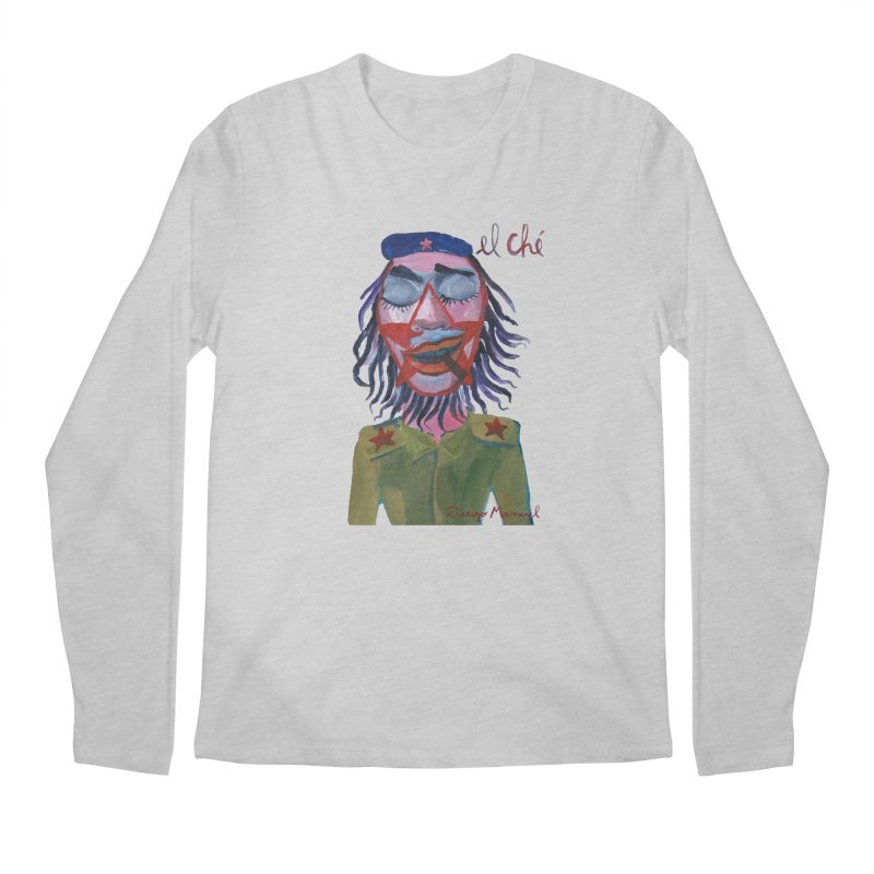 Che Guevara 3 Men's Regular Longsleeve T-Shirt by diegomanuel's Artist Shop