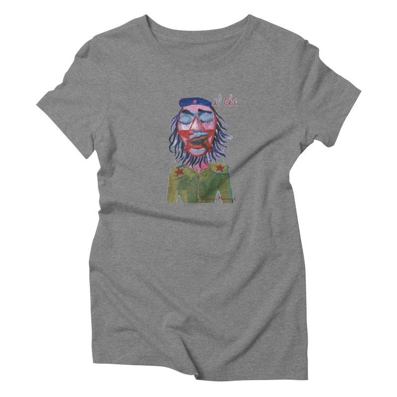 Che Guevara 3 Women's T-Shirt by diegomanuel's Artist Shop
