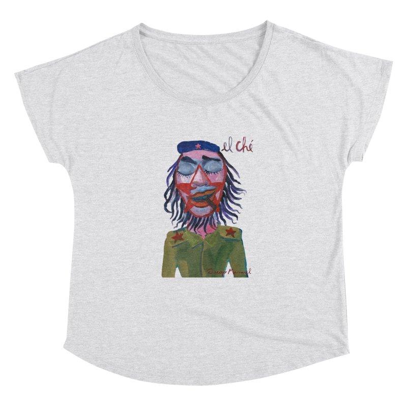 Che Guevara 3 Women's Dolman Scoop Neck by diegomanuel's Artist Shop