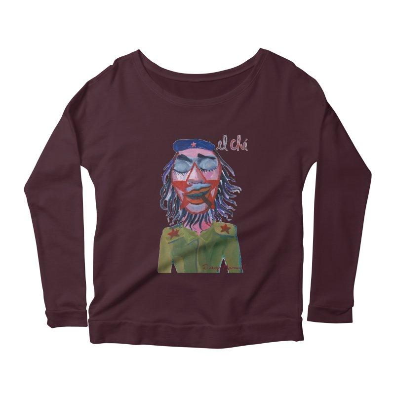 Che Guevara 3 Women's Longsleeve T-Shirt by diegomanuel's Artist Shop