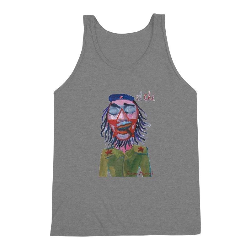 Che Guevara 3 Men's Triblend Tank by diegomanuel's Artist Shop