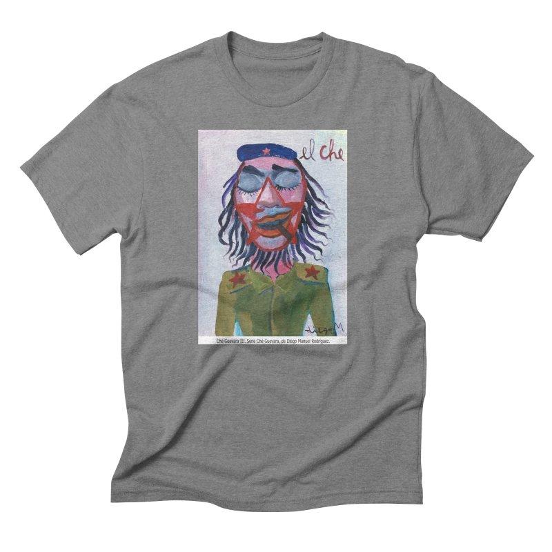 Che Guevara 3 Men's Triblend T-Shirt by diegomanuel's Artist Shop