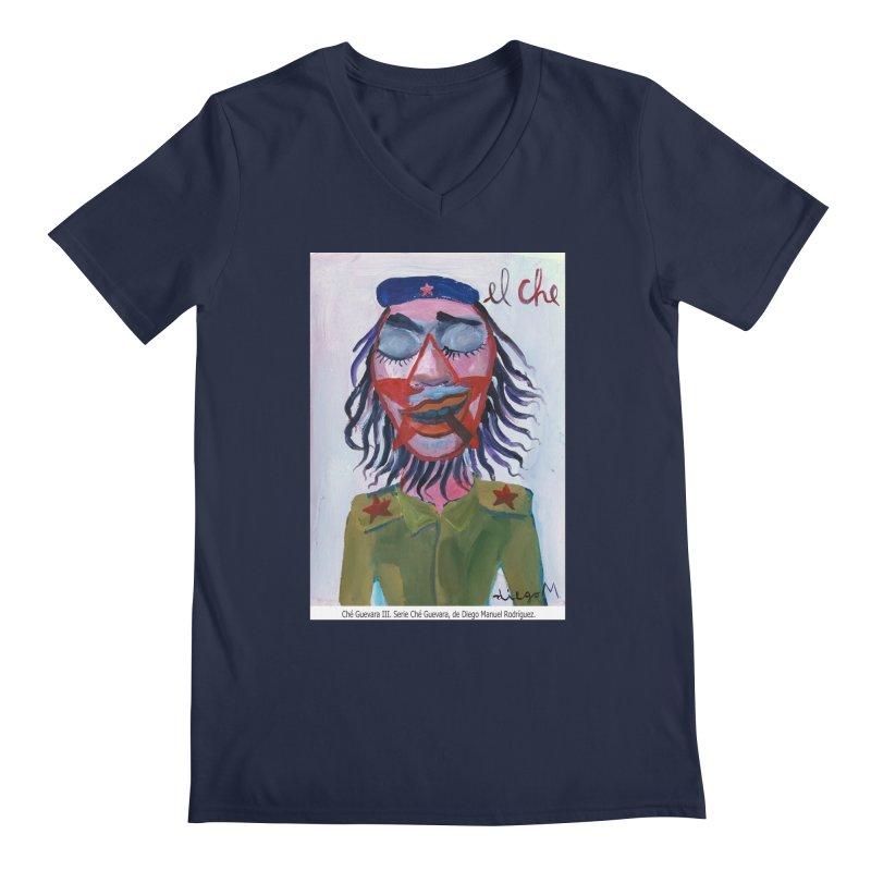 Che Guevara 3 Men's V-Neck by diegomanuel's Artist Shop