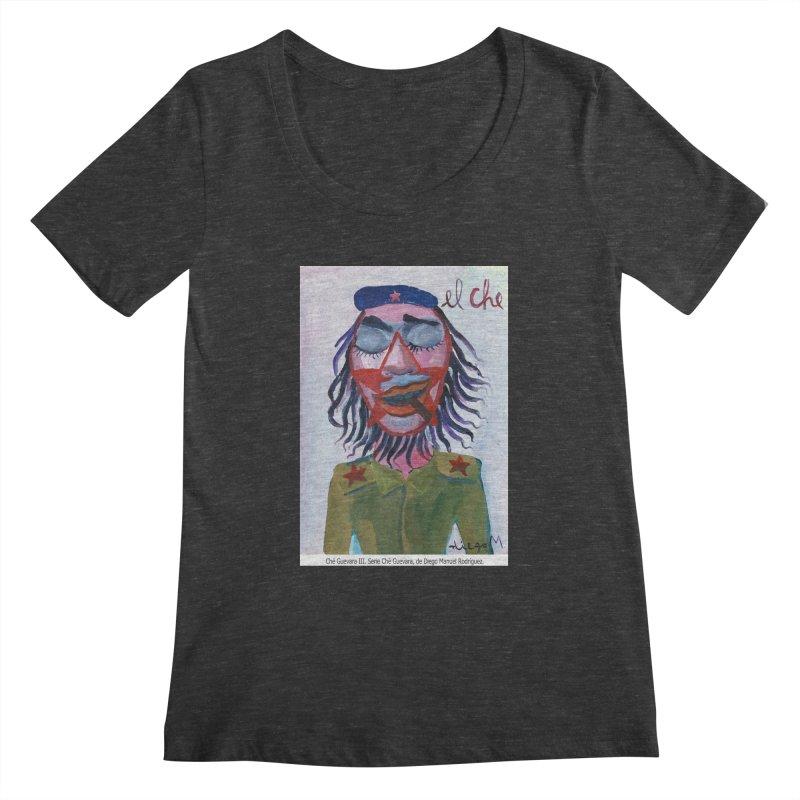 Che Guevara 3 Women's Scoopneck by diegomanuel's Artist Shop
