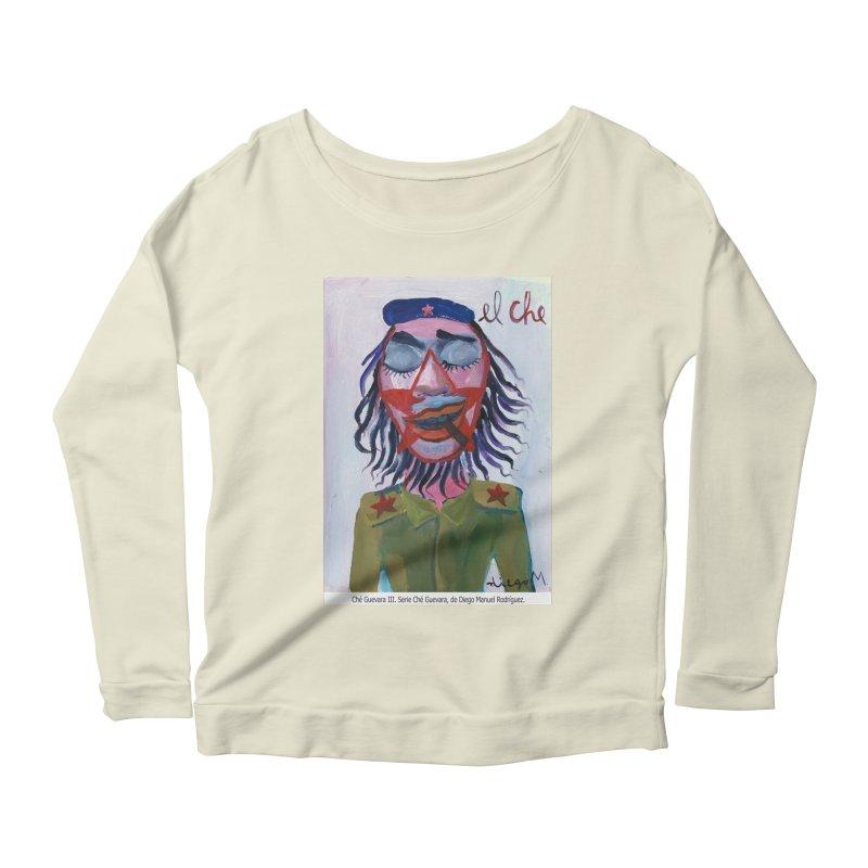Che Guevara 3 Women's Longsleeve Scoopneck  by diegomanuel's Artist Shop