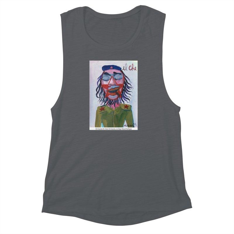 Che Guevara 3 Women's Muscle Tank by diegomanuel's Artist Shop