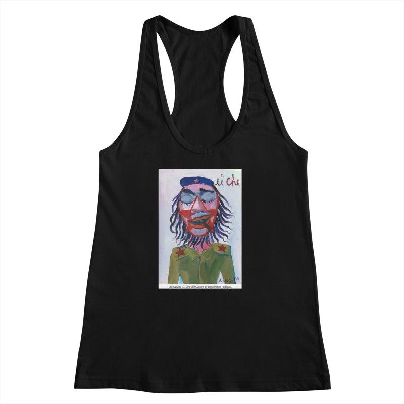 Che Guevara 3 Women's Racerback Tank by diegomanuel's Artist Shop