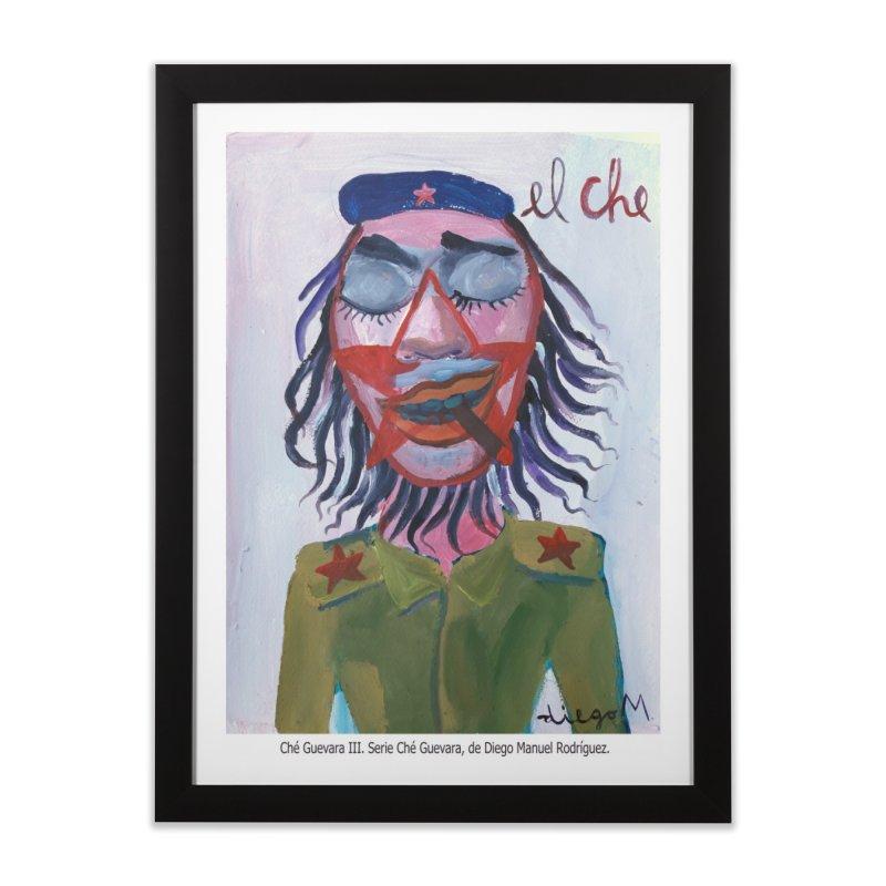 Che Guevara 3 Home Framed Fine Art Print by diegomanuel's Artist Shop
