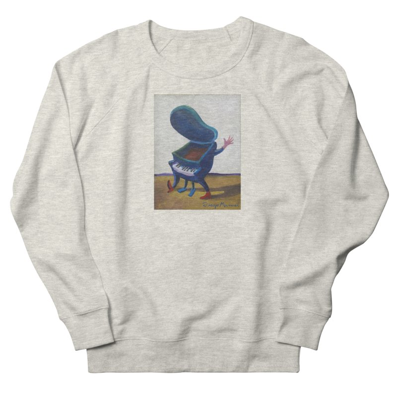 Small blue piano Men's French Terry Sweatshirt by diegomanuel's Artist Shop
