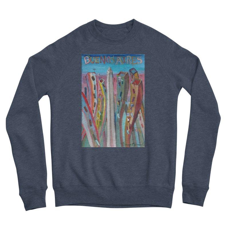 Buenos Aires goal! Women's Sponge Fleece Sweatshirt by diegomanuel's Artist Shop
