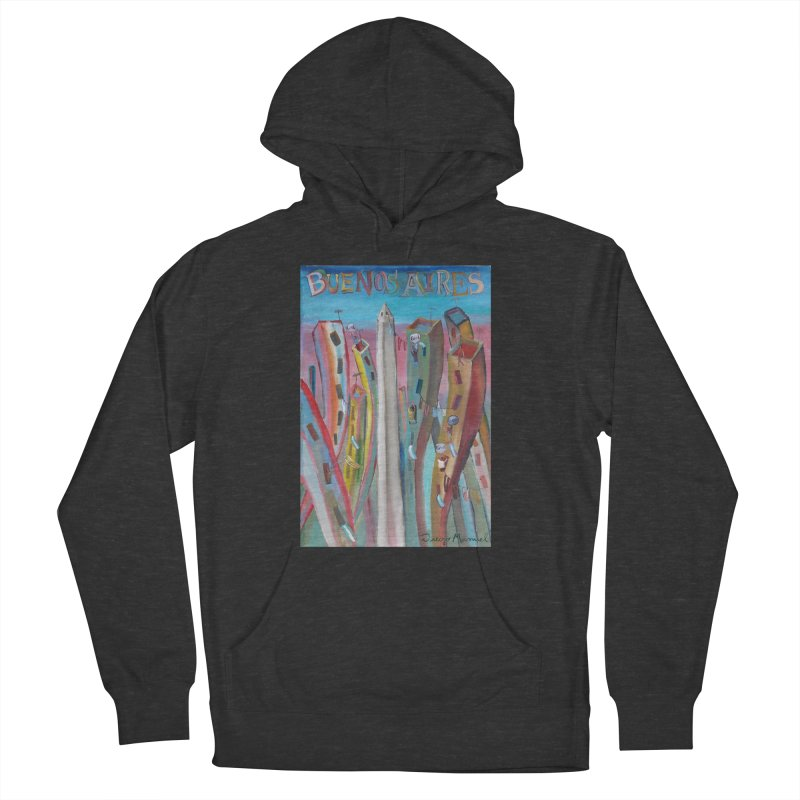 Buenos Aires goal! Men's French Terry Pullover Hoody by diegomanuel's Artist Shop