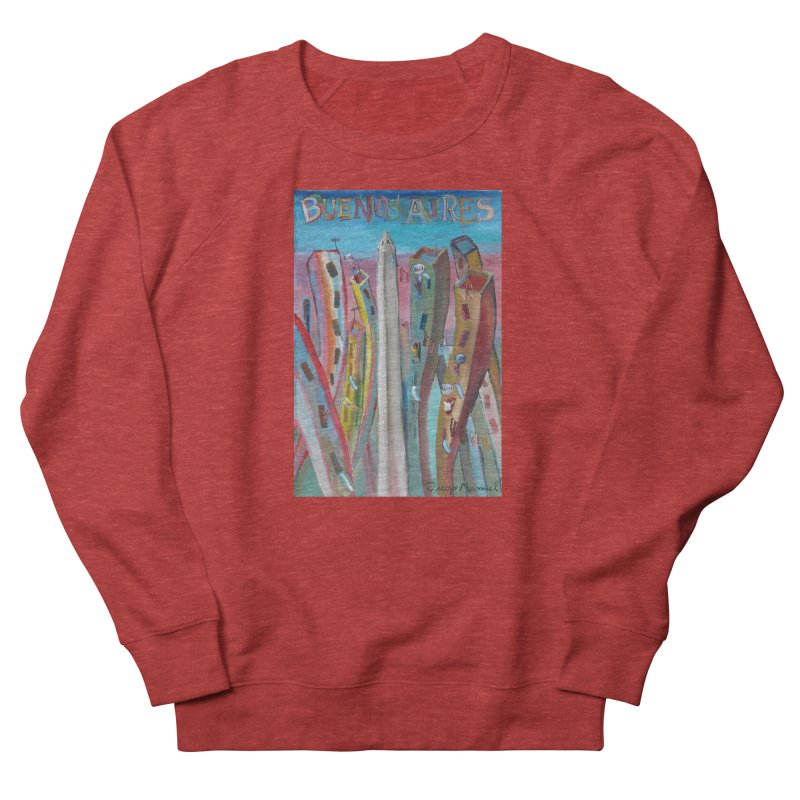 Buenos Aires goal! Men's French Terry Sweatshirt by diegomanuel's Artist Shop