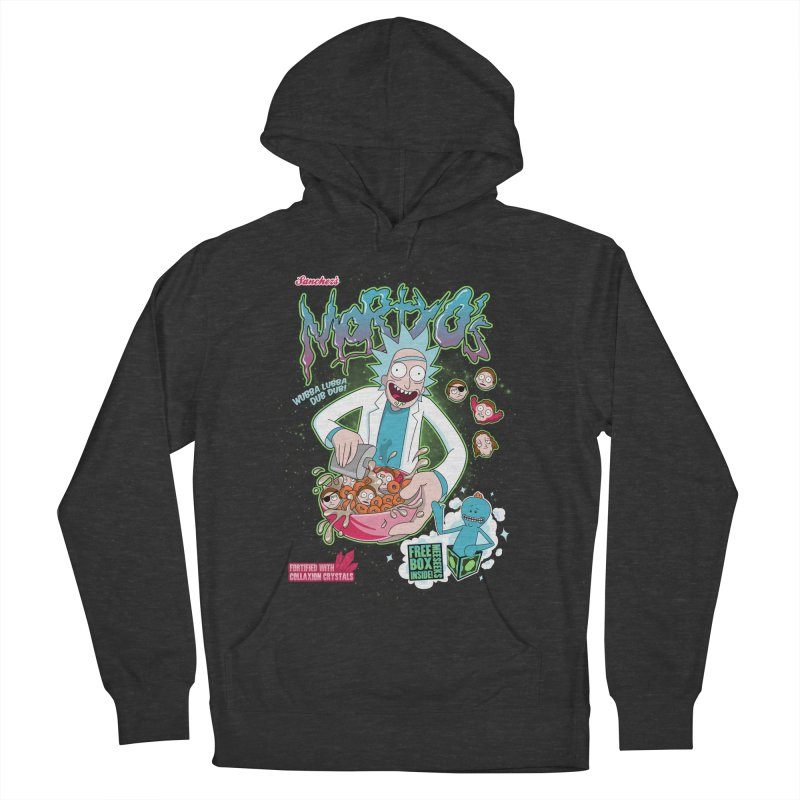 Mortyo's Spacey Cereals Women's Pullover Hoody by Diego Pedauye's Artist Shop