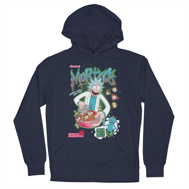 Mortyo's Spacey Cereals Men's Pullover Hoody by Diego Pedauye's Artist Shop