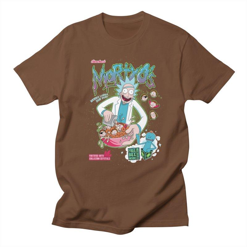 Mortyo's Spacey Cereals Men's T-shirt by Diego Pedauye's Artist Shop