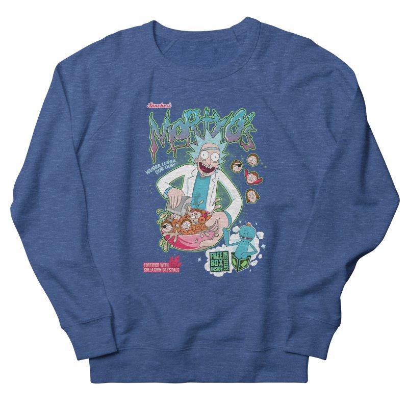 Mortyo's Spacey Cereals Women's Sweatshirt by Diego Pedauye's Artist Shop