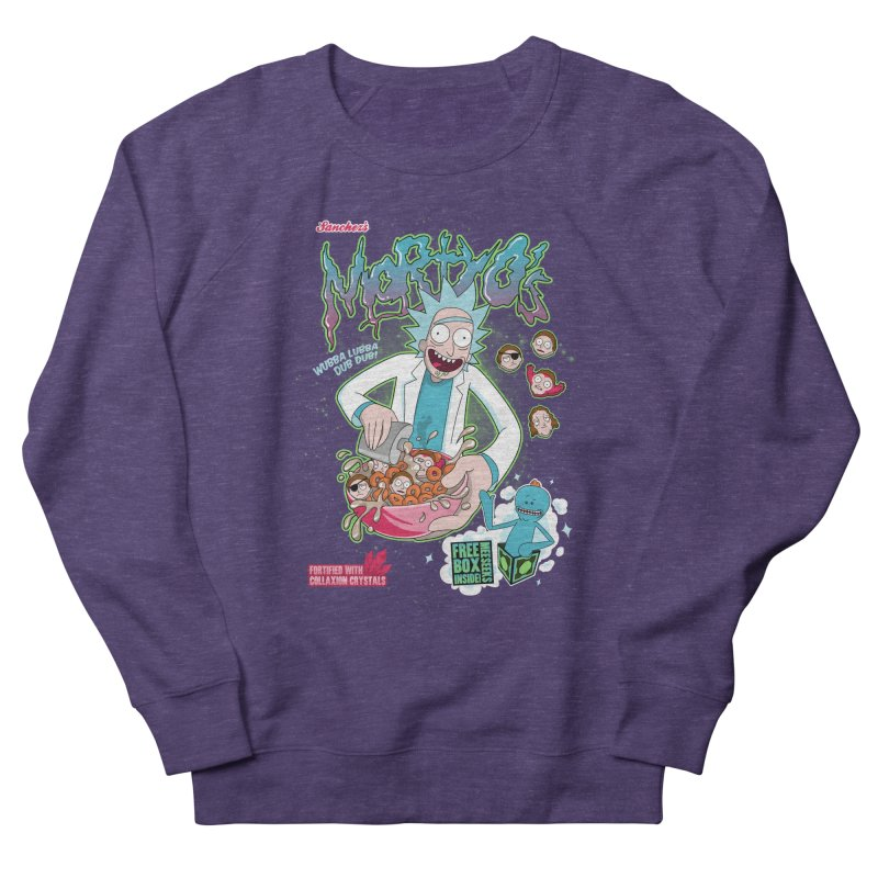 Mortyo's Spacey Cereals Men's Sweatshirt by Diego Pedauye's Artist Shop