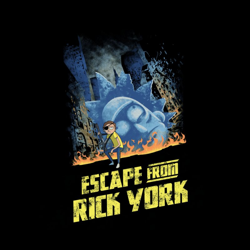 Escape from Rick York None  by Diego Pedauye's Artist Shop