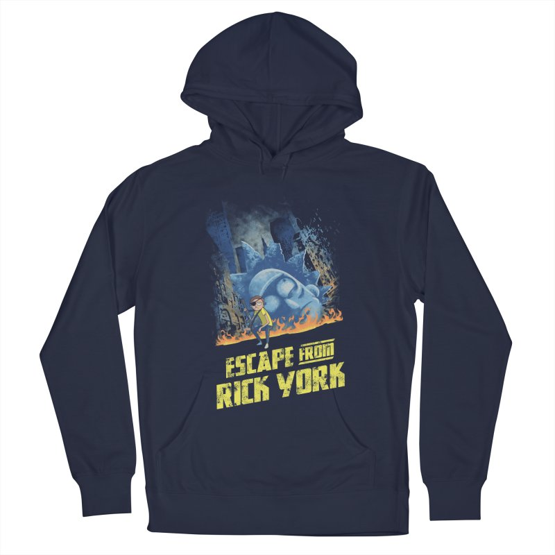 Escape from Rick York Women's Pullover Hoody by Diego Pedauye's Artist Shop