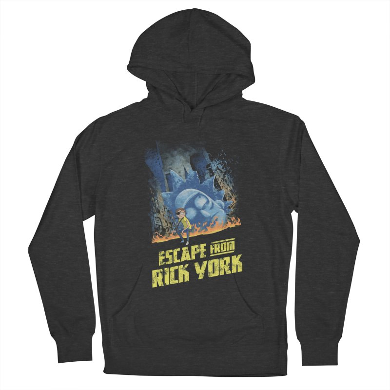 Escape from Rick York Men's Pullover Hoody by Diego Pedauye's Artist Shop