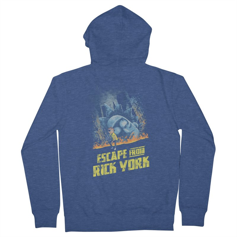 Escape from Rick York Men's Zip-Up Hoody by Diego Pedauye's Artist Shop