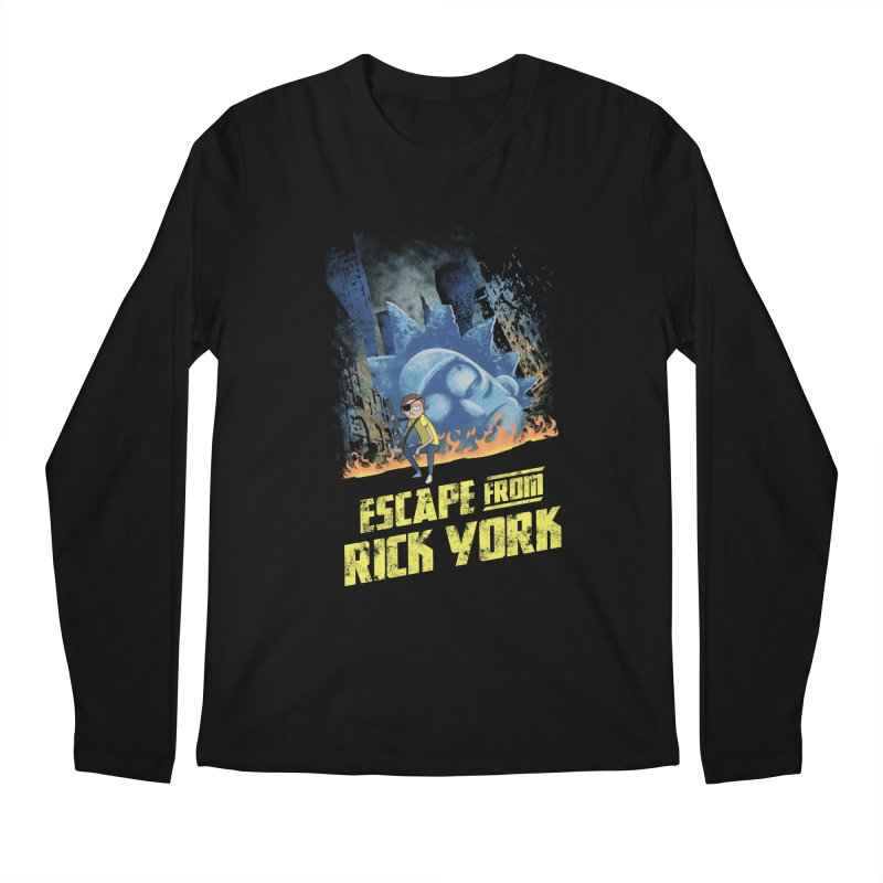 Escape from Rick York Men's Longsleeve T-Shirt by Diego Pedauye's Artist Shop