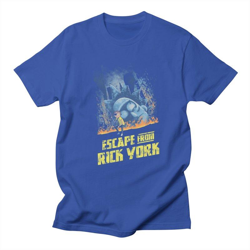 Escape from Rick York Men's T-shirt by Diego Pedauye's Artist Shop