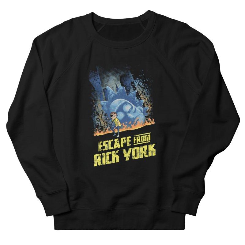 Escape from Rick York Men's Sweatshirt by Diego Pedauye's Artist Shop