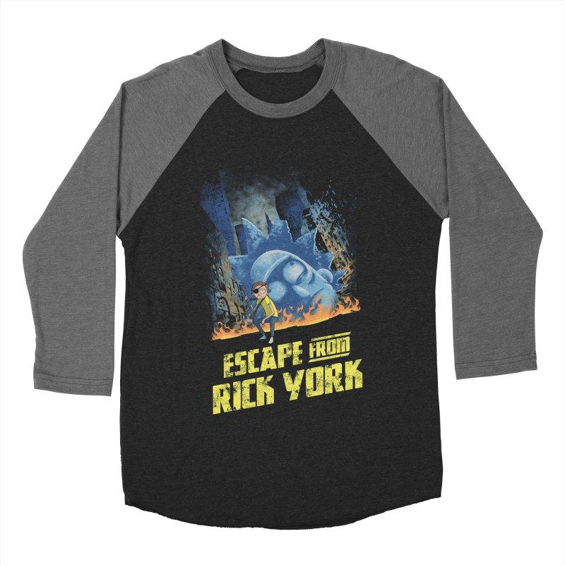 Escape from Rick York Women's Baseball Triblend T-Shirt by Diego Pedauye's Artist Shop