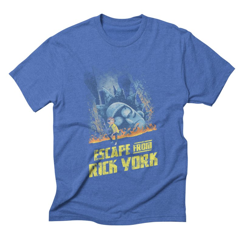 Escape from Rick York Men's Triblend T-shirt by Diego Pedauye's Artist Shop