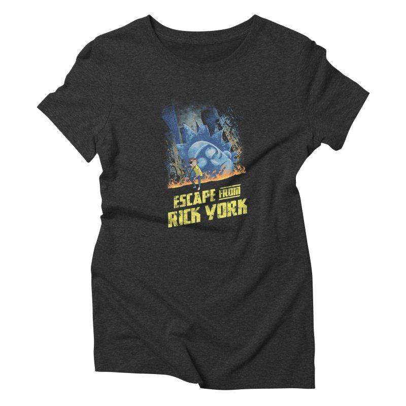 Escape from Rick York Women's Triblend T-shirt by Diego Pedauye's Artist Shop