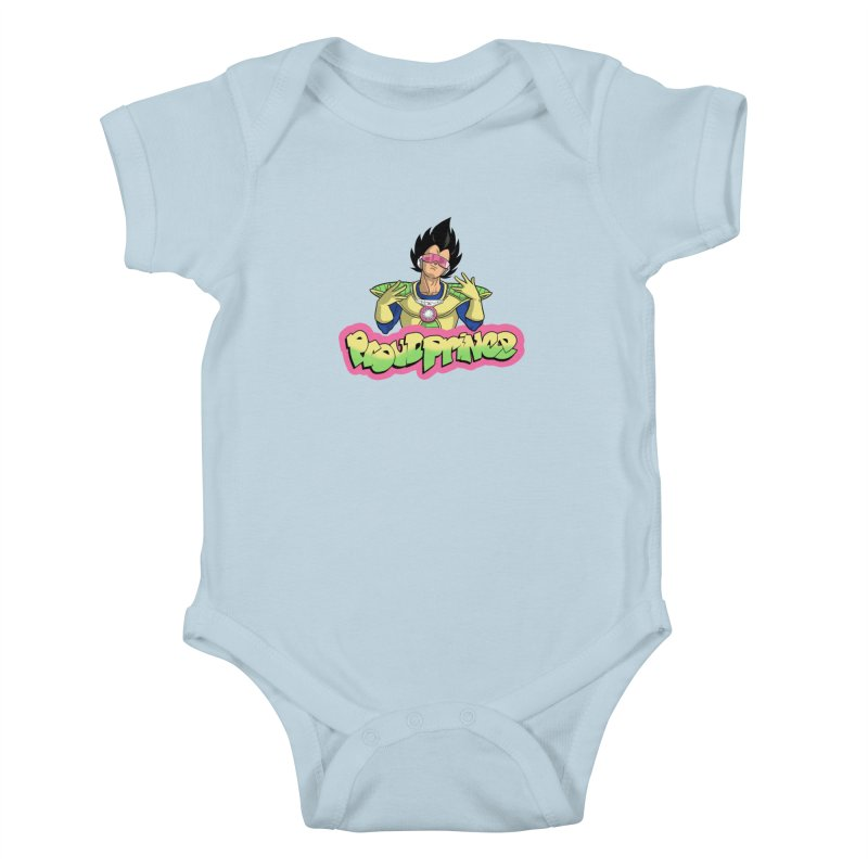 Proud Prince Kids Baby Bodysuit by Diego Pedauye's Artist Shop