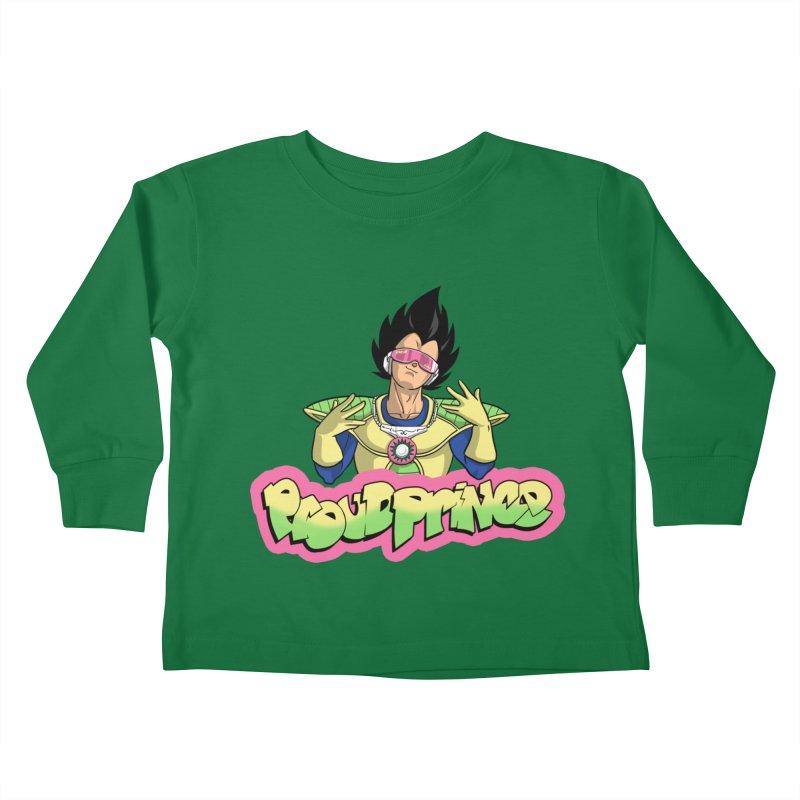 Proud Prince Kids Toddler Longsleeve T-Shirt by Diego Pedauye's Artist Shop