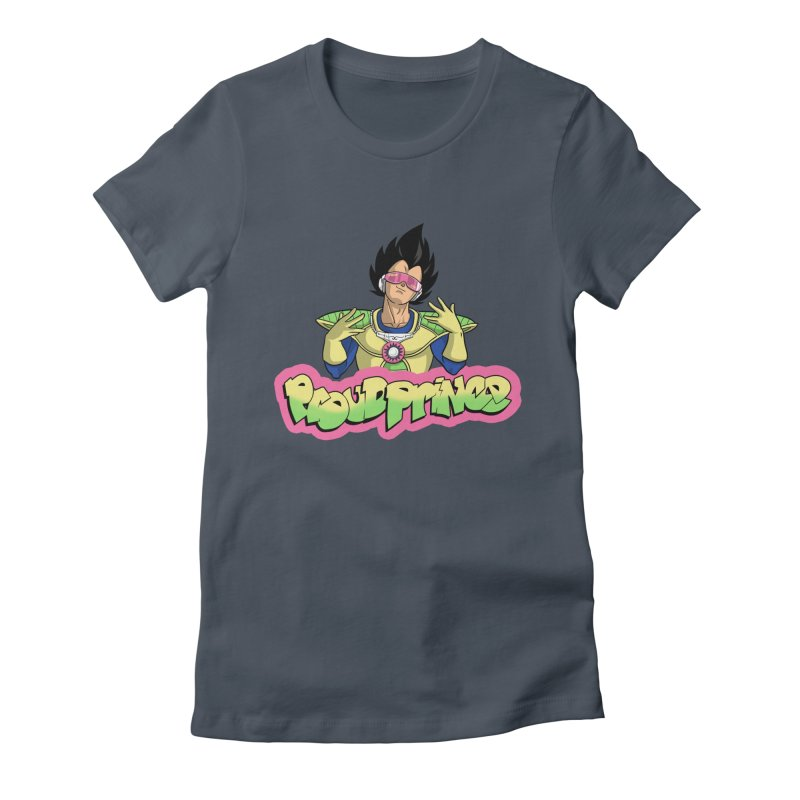 Proud Prince Women's Fitted T-Shirt by Diego Pedauye's Artist Shop
