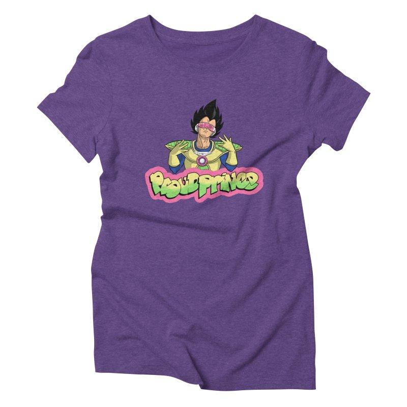 Proud Prince Women's Triblend T-shirt by Diego Pedauye's Artist Shop