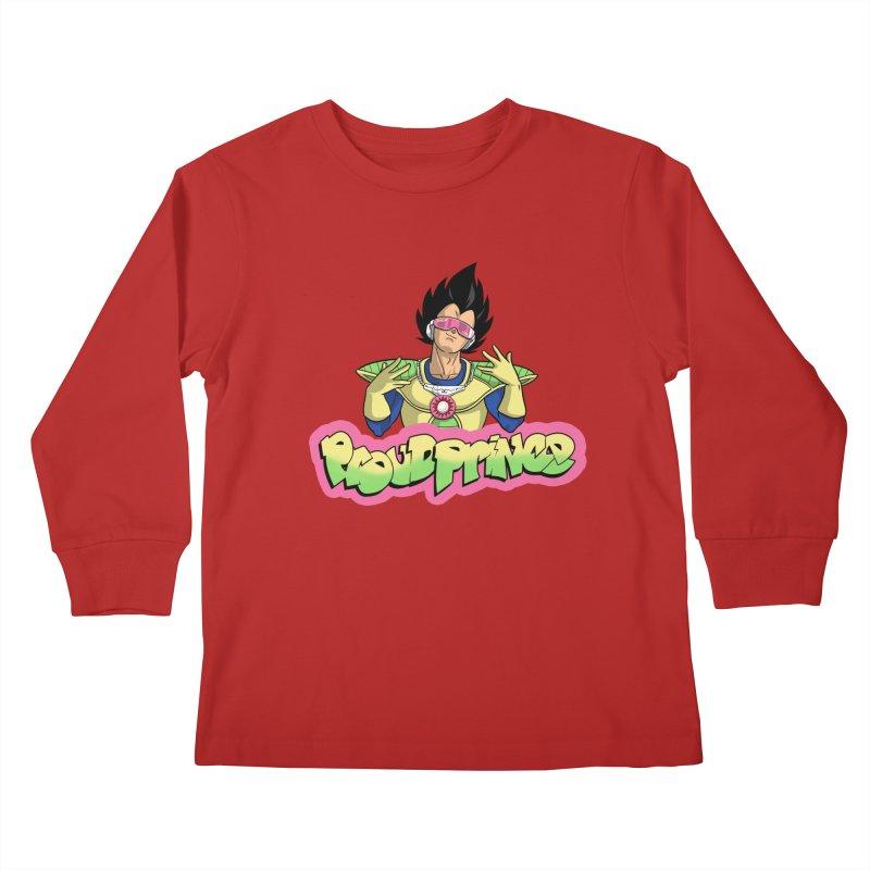 Proud Prince Kids Longsleeve T-Shirt by Diego Pedauye's Artist Shop