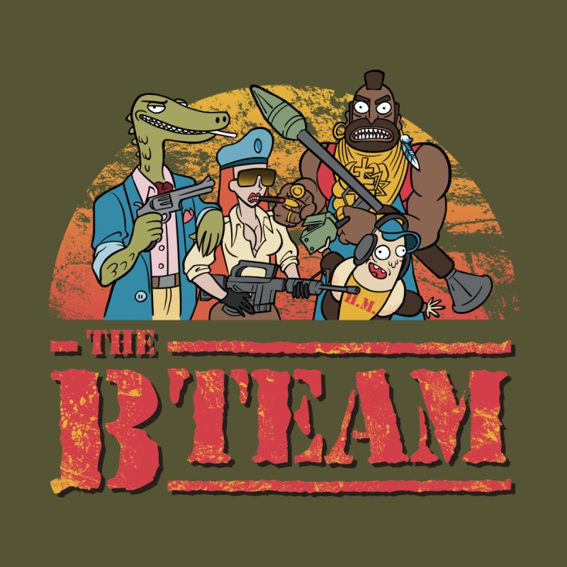 The B Team None  by Diego Pedauye's Artist Shop