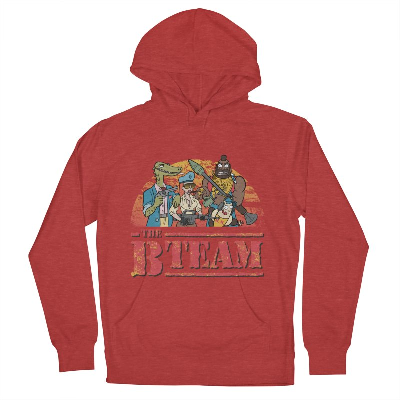 The B Team Women's Pullover Hoody by Diego Pedauye's Artist Shop