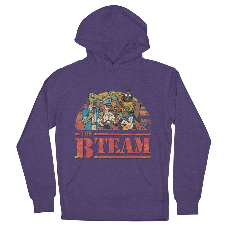 The B Team Men's Pullover Hoody by Diego Pedauye's Artist Shop