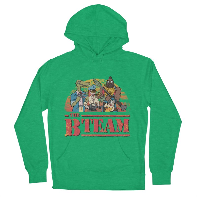The B Team Men's Pullover Hoody by Diego Pedauye's Artist Shop