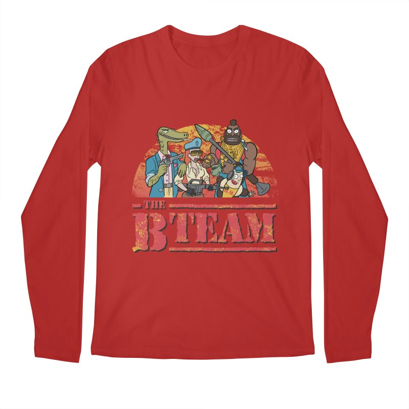 The B Team Men's Longsleeve T-Shirt by Diego Pedauye's Artist Shop