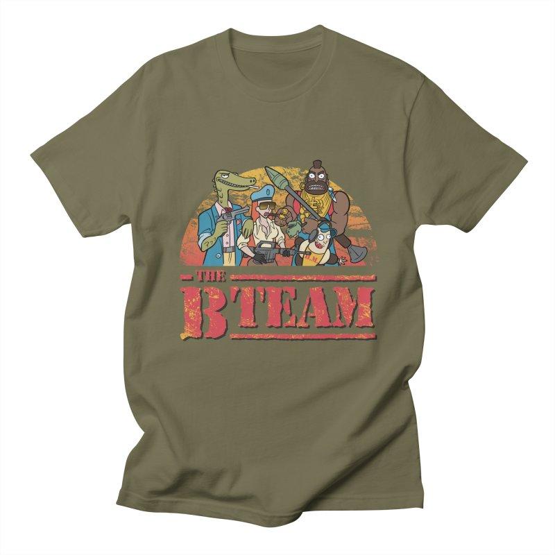 The B Team Men's T-shirt by Diego Pedauye's Artist Shop